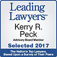 Leading Lawyers, Kerry R. Peck